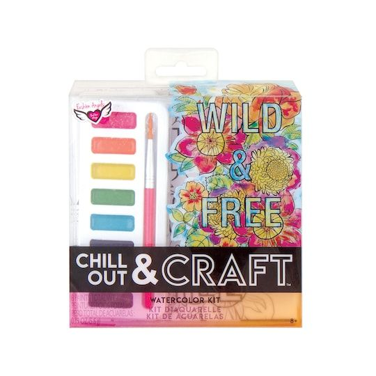 Fashion Angels Chill Out Craft Watercolor Kit Watercolor Kit