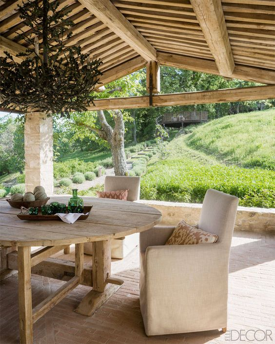 House Tour: A 17th-century Italian Farmhouse - ELLE DECOR