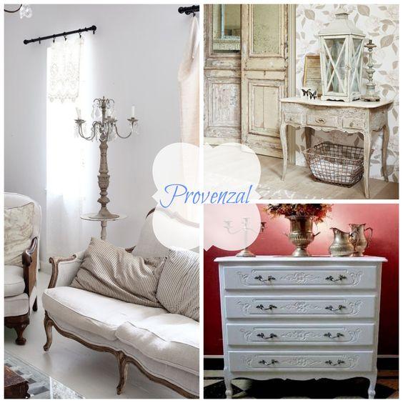 muebles estilo provenzal
