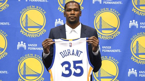 Kevin Durant: 'As comfortable as I've ever felt' with Warriors