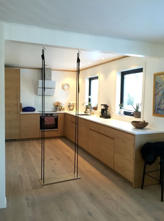 Studio10 fronter + IKEA skrog = sant #ikea #kj?kken #eik #corian # ...