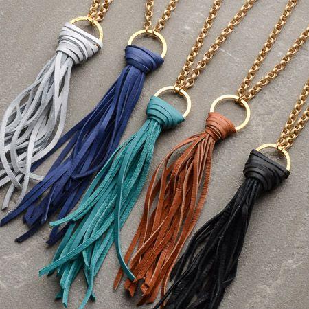 Virtue Large Tassel Necklace: