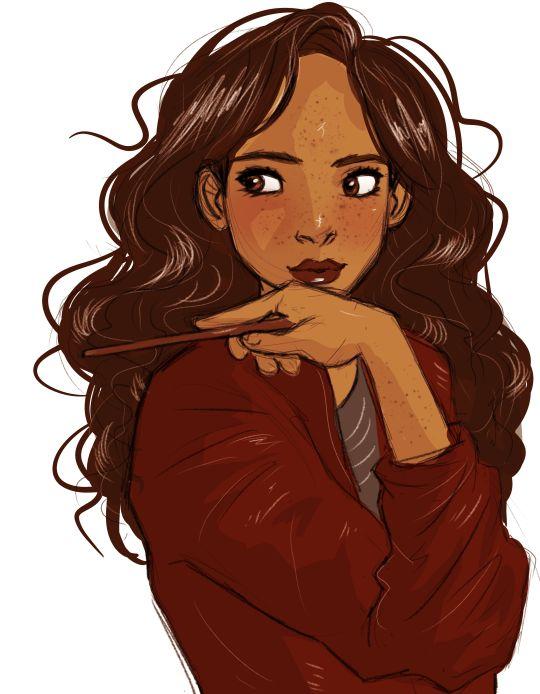 hermione granger by lilabeanz harry potter fan art