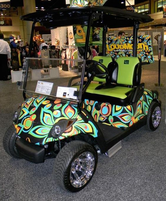Golf carts need some wrap loving too Vehicle Graphics - golf cart attendant sample resume
