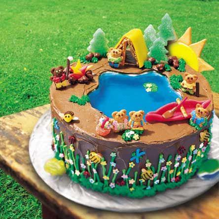 camping at lake cake | Pool furniture, divingboards and accessories (see Tip):