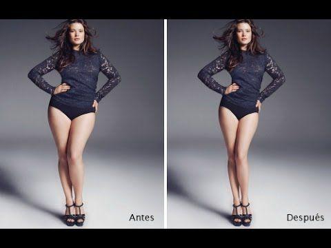 Como adelgazar una foto en photoshop