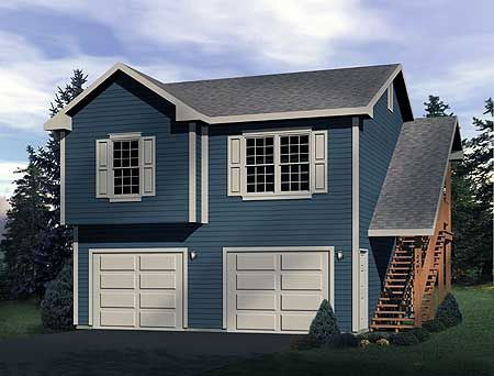House plans in laws and garage on pinterest for Garage with inlaw apartment
