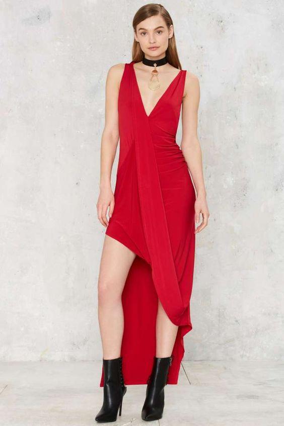 Nasty Gal Pinnacle Asymmetric Dress | Shop Clothes at Nasty Gal!