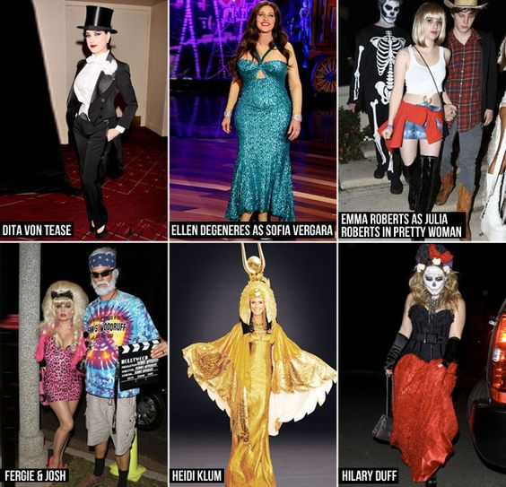 Which celeb costume was your fave?!