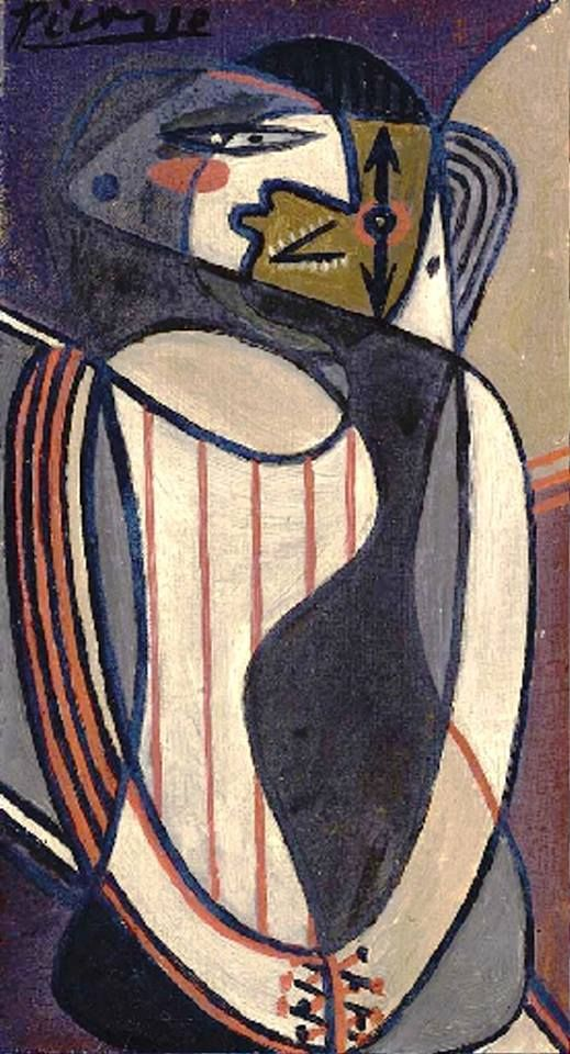 Pablo Picasso - Femme assise. Painted in December 1926. #arte