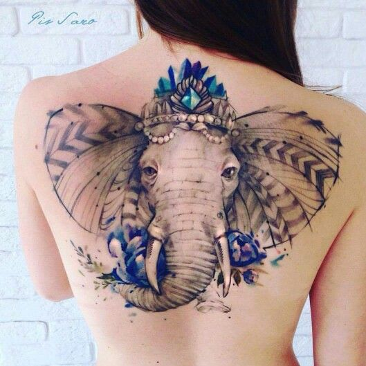 elephant tattoo elephant tattoo pinterest tattoos. Black Bedroom Furniture Sets. Home Design Ideas