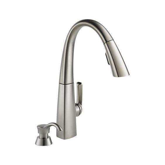 Delta Kitchen Faucet 19936 Spsd Dst Arc Single Handle
