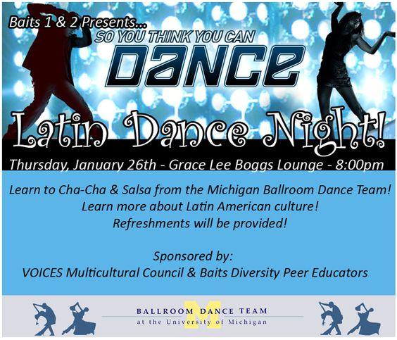 Latin Dance Night - January 2012