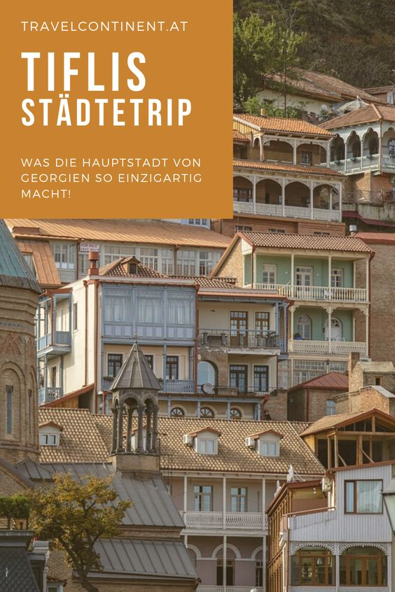 Tiflis Stadtetrip Europa Georgien Hauptstadt