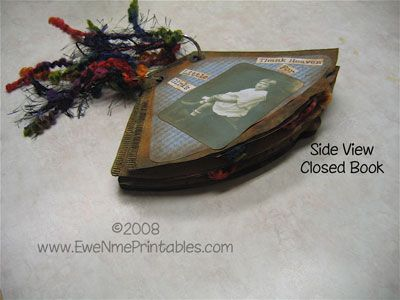 "EweNmePrintables.com - Printables For All Kinds Of Crafting. For Cadette ""Book Artist"" badge."