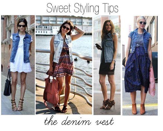 Styling Tips: The Denim Vest