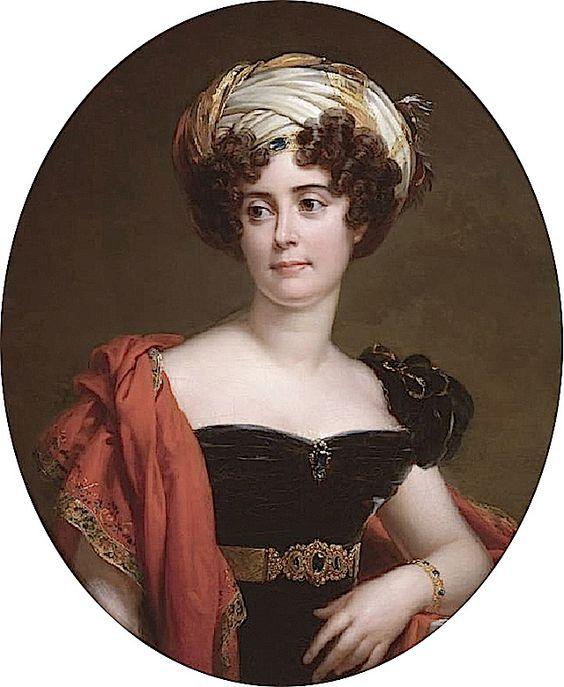 Blanche-Joséphine Le Bascle d'Argenteuil by François Pascal Simon Gérard, called Baron Gérard (auctioned by Sotheby's)