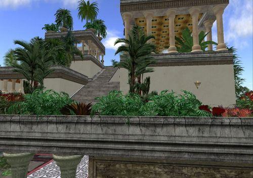 jardines colgantes babilonia siete maravillas mundo 3 http://mirandodesdemiatalaya.wordpress.com/2014/09/22/los-jardines-colgantes-de-babilonia/ MIRARLO ES DIVINO