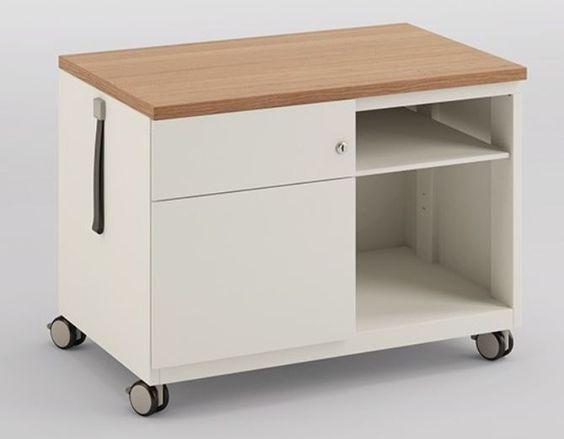 Schreibtisch Stahlcontainer Mit Laufrollen Rollcontainer Schreibtisch Rollcontainer Schubladen