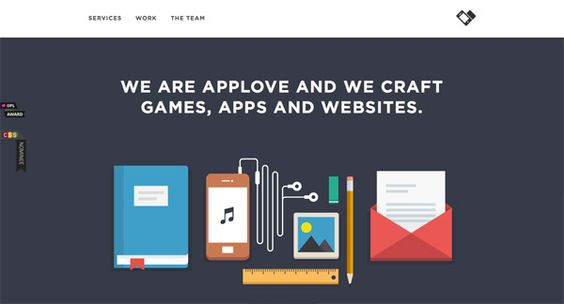 20 Stylish Examples of Flat Illustrations in Web Design