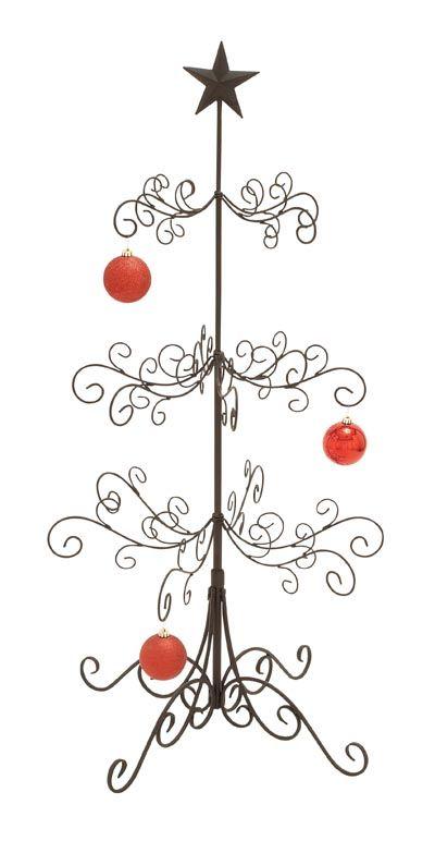 christmas ornament display tree