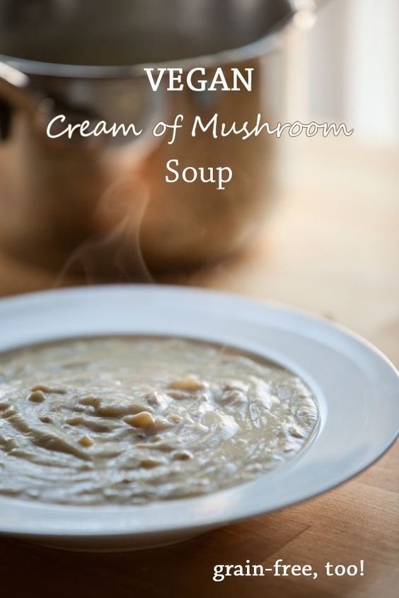 Cream of Mushroom soup is a comfort food for me. This easy Paleo version takes just 15 minutes to make, and it tastes even yummier than my Mom's — rich, creamy, and full of mushroom flavor! The recipe is dairy-free, made with coconut or almond milk. If you can get your hands on some wild mushrooms, you're in for a treat. I used shiitake and maitake mushrooms, which are low in carbs.5/5(1).