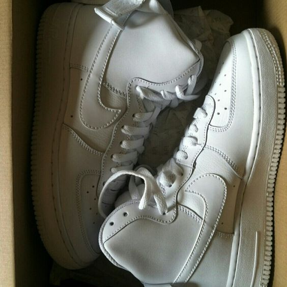 New in box size 6Y Nike Air Force Ones New in box white Nike Air Force Ones. Nike Shoes