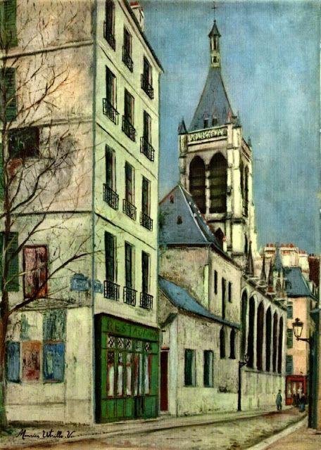 Maurice Utrillo - La Escuela de París - Triana Rodriguez - Álbumes web de Picasa