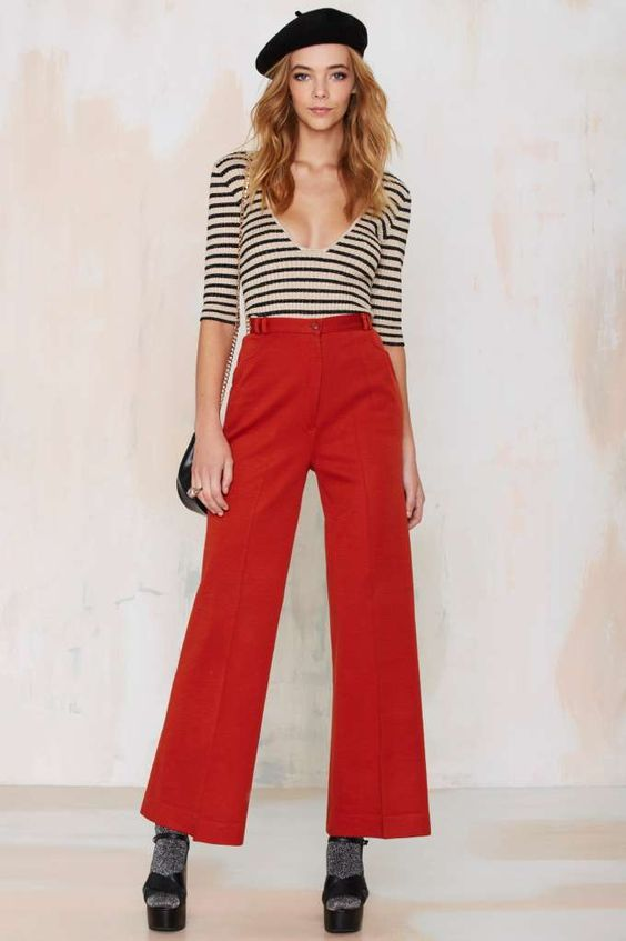 Vintage Audrey Wide Leg Pants | Shop Vintage at Nasty Gal!