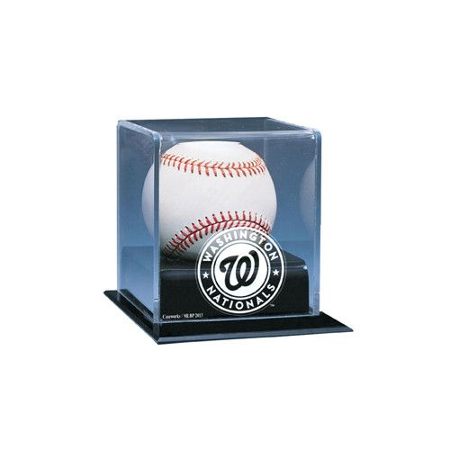 Washington Nationals MLB Single Baseball Display