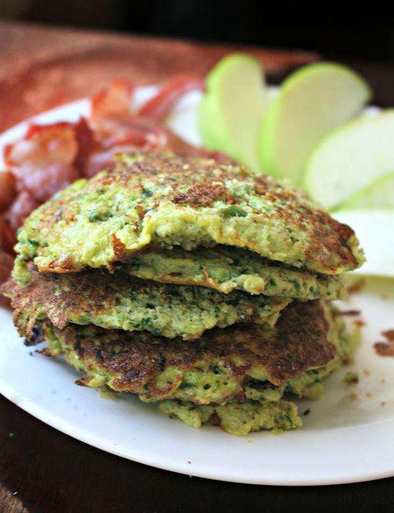 Coconut Flour Veggie Pancakes