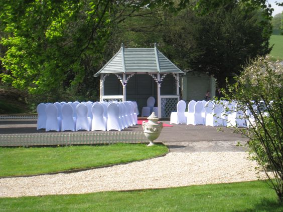 Civil ceremonies and partnerships in Mid Wales  http://www.weddingswales.co.uk/venues/falcondale/falcondale-civilceremonies