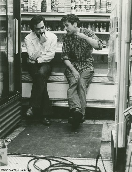 Robert De Niro and Martin Scorsese on the set of Taxi Driver, 1976 pic.twitter.com/BNyRiEMzlJ