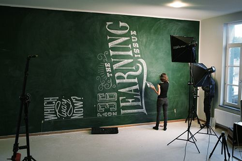 Visual Graphic. Wanna paint my wall like this. #TypographyOnTheWall