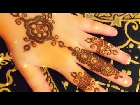 نقش حناء سهل و بسيط Henna Simple Design Youtube Henna Hand Tattoo Hand Tattoos Henna Designs