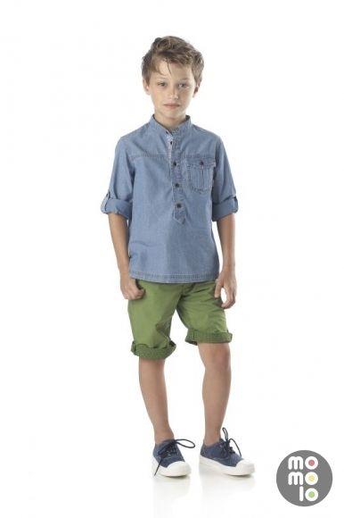 www.momolo.com  #modainfantil #fashionkids #moda #niños #kids #momolo  #childrensfashion #streetstyle #kidswear #denim Look de Fendi | MOMOLO Street Style Kids :: La primera red social de Moda Infantil