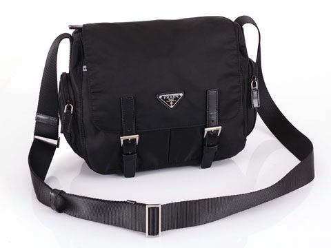 prada fake handbags - Prada BT0503 Black Messenger on Sale | Prada Messenger Bags ...