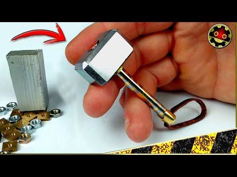 Martillo De Thor Joya Llavero Magnético Con Chatarra Youtube Paper Lanterns Diy Diy Lanterns Diy Metal
