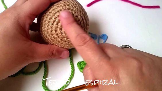 Tejido en espiral (Tecnica amigurumi)
