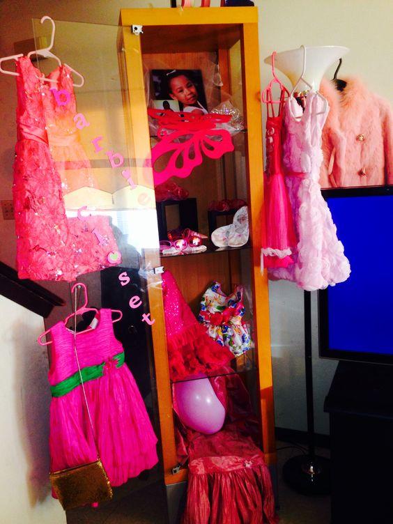 Homemade babie closet for 6th birthday