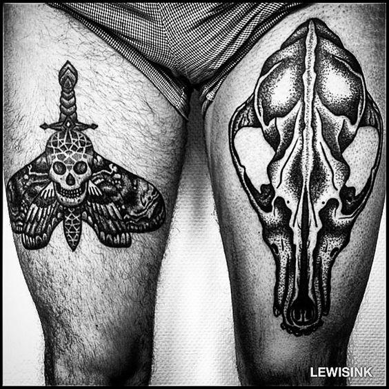 Amazing #tattoo #art by  @lewisink ️ III