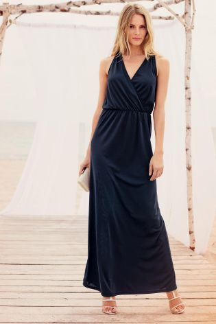 Buy Navy Embellished Maxi Dress from the Next UK online shop