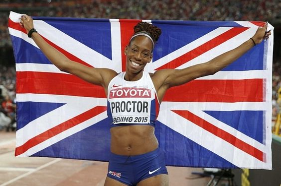 For someone who had just had a gold medal snatched away, Shara Proctor had a big smile on her face. Proctor had become the first British long jumper to leap more than seven metres, then she did it again for good measure, only to have the chance of becoming world champion taken from her with the third-last jump of the competition. Proctor had taken the lead with a huge British record leap of 7.07 metres in the third round of the final at the Bird's Nest Stadium, which she had followed with…