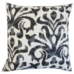 "Create a unique decor style to your interiors with this lovely accent piece. This throw pillow features a bold charcoal geometric pattern against a white background. This 18"" pillow blends well with solids and other patterns. Place this on your chair, sofa or bed. Made with a blend of 95% cotton and 5% linen fabric. Crafted in the USA. $55.00 #pillow  #homedecor  #throwpillow  #interiorstyling  #indoorpillow"