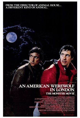 An American Werewolf in London Poster 27x40 David Naughton Griffin Dunne Jenny Agutter Movie Poster Print, 27x40 @ niftywarehouse.com
