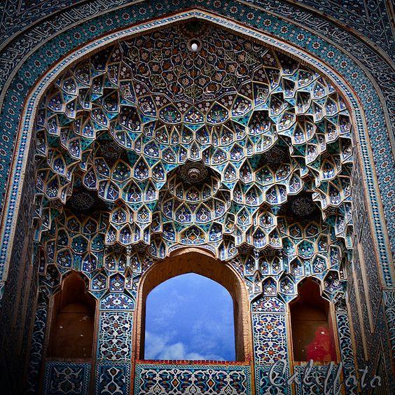 Mosk - Kerman, Iran by Califfoto, via Flickr
