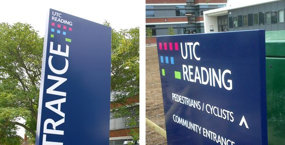 University Technical College Reading | Education Signage Projects | Signlex