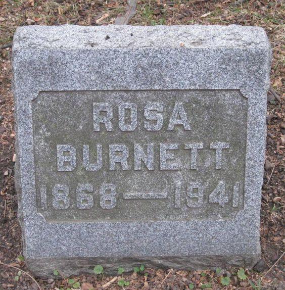 Rosa B <i>Clark</i> Burnett