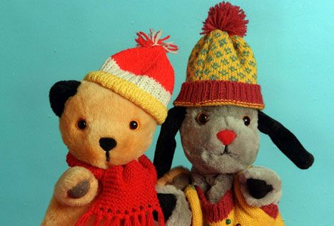 Sooty and Sweep.... they were so cute and I loved them as a kid. It was sweet & innocent, not like some of the nonsense & ugliness accepted as kiddie shows today like the Muppets... we used to call them monsters! Still think they are....