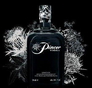 Pincer Vodka. The world's strongest vodka - from Scotland. Boosh!